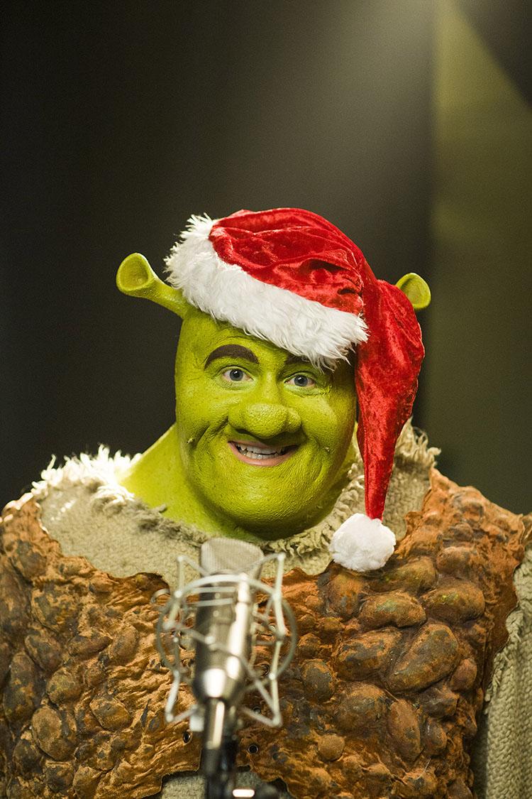 Shrek Christmas.Rockin Around The Christmas Tree With Shrek The Musical
