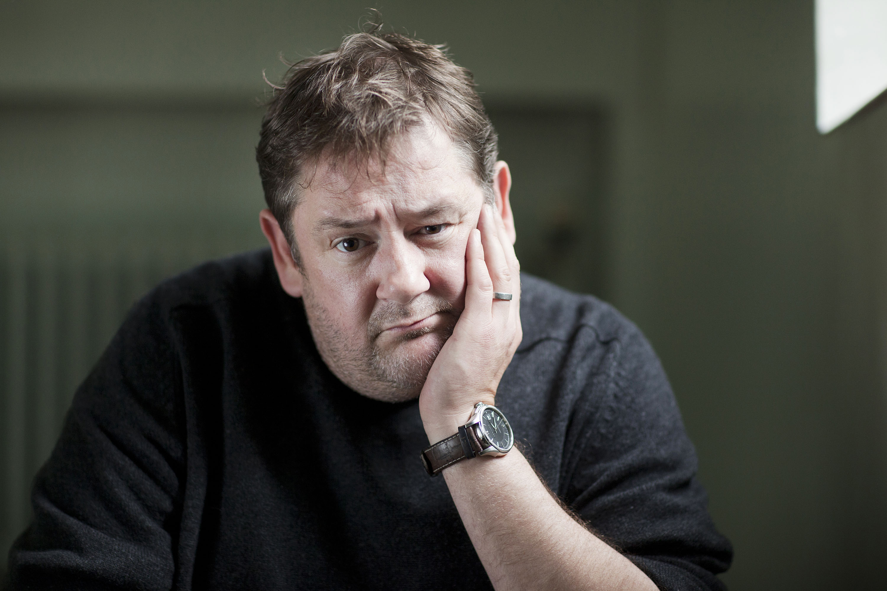 A portrait of actor and comedian Johnny Vegas