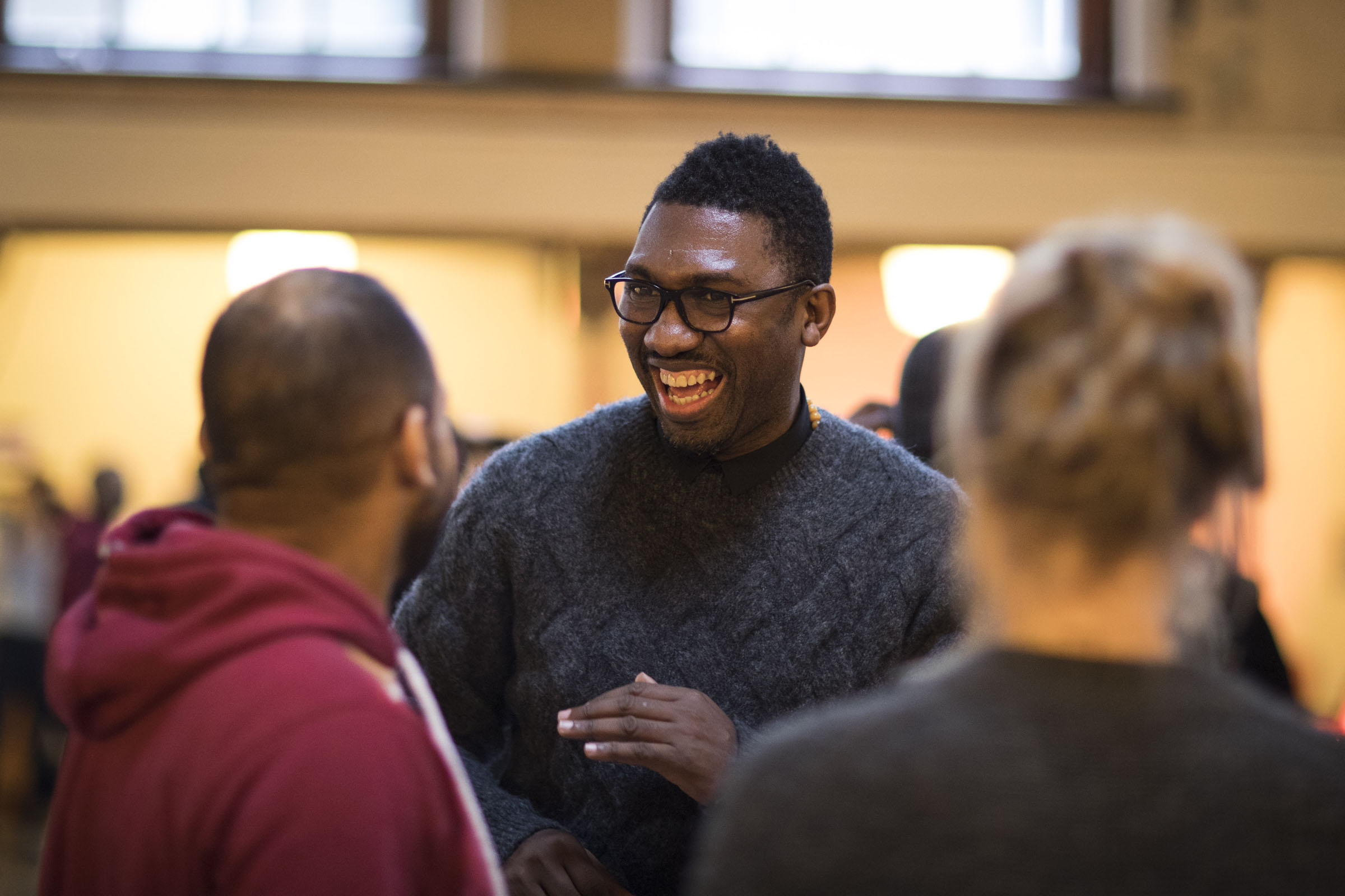 Kwame Kwei-Armah in rehearsals for 'One Love'