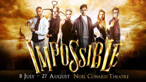 Promotional photography for 'Impossible'