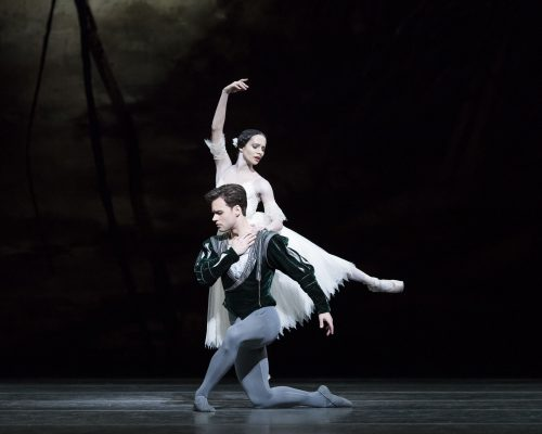 Alexander Campbell as Albrecht and Francesca Hayward as Giselle in Giselle, The Royal Ballet