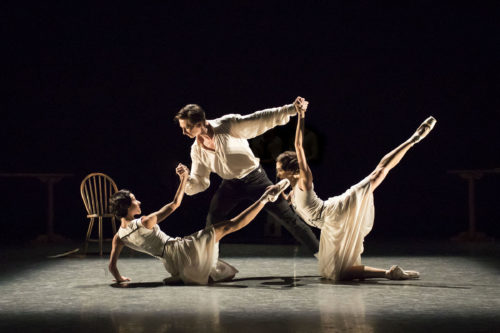 Jeux by the Royal Ballet