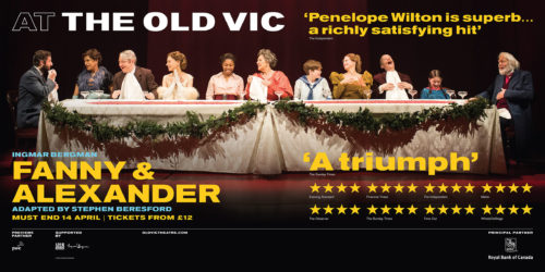 Fanny & Alexander tube poster