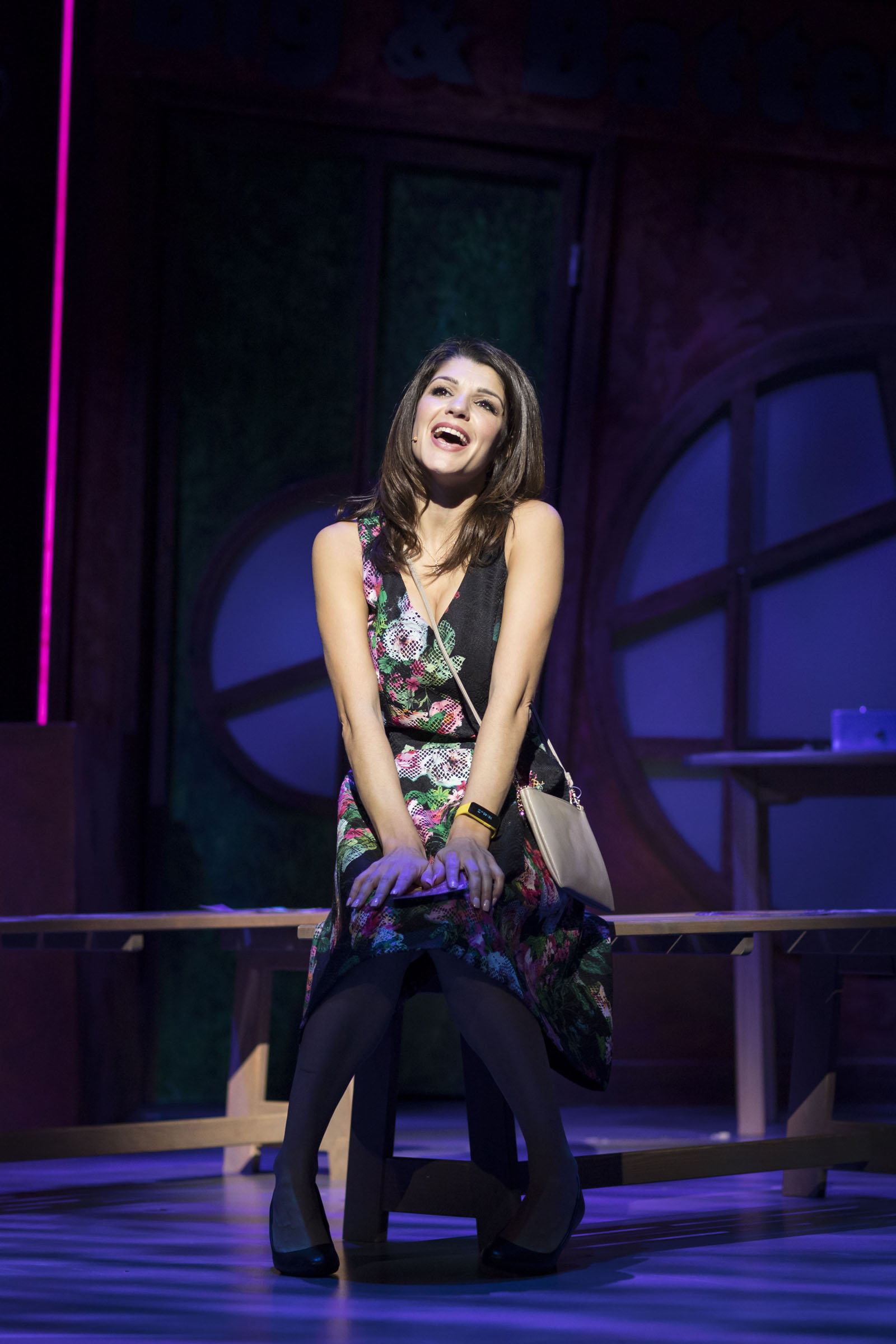 Natalie Anderson in Fat Friends the Musical