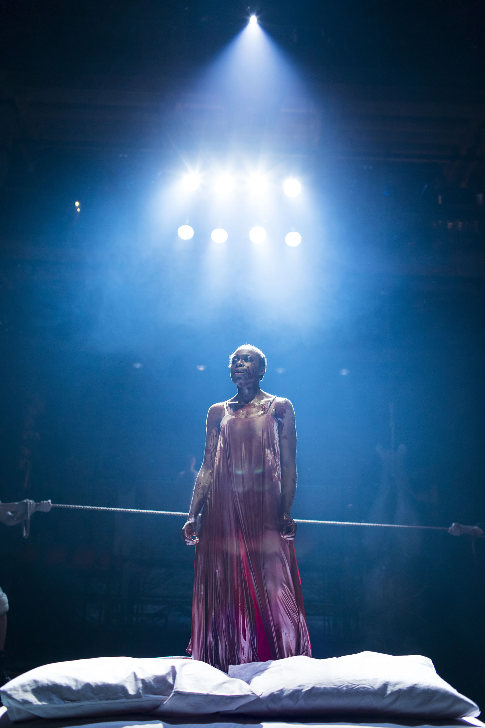 Joan Iyiola as the Duchess of Malfi