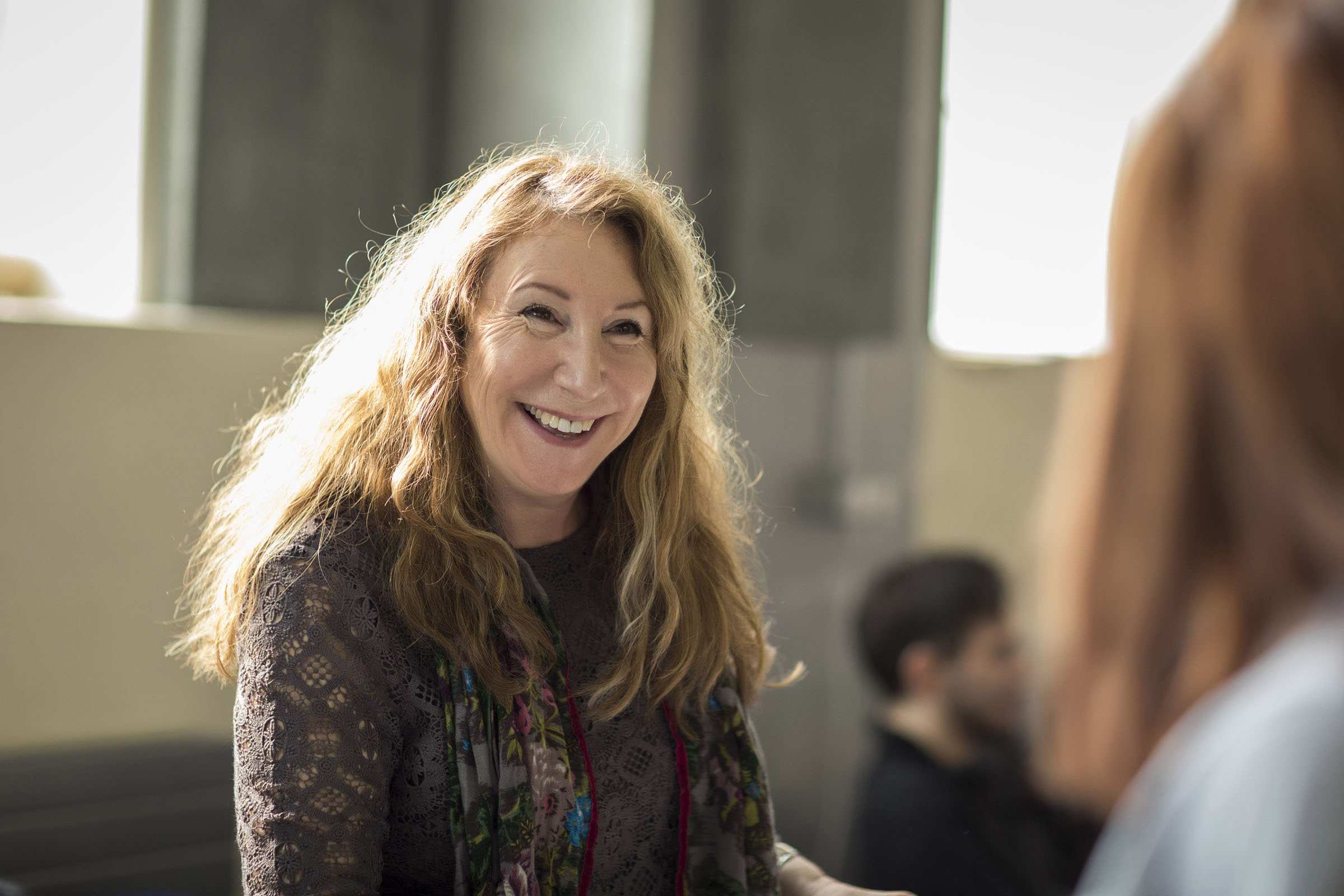 Kay Mellor, the writer and director of Fat Friends the Musical
