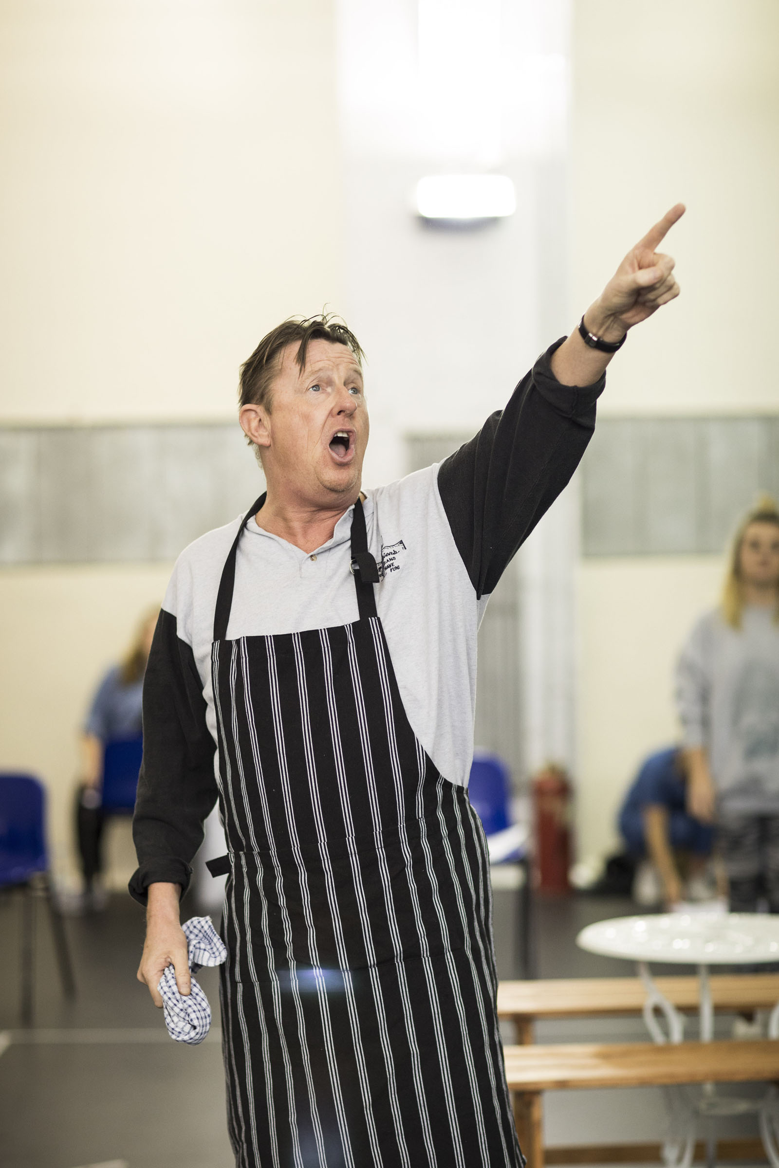 Kevin Kennedy in Fat Friends the Musical