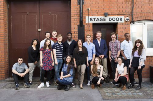 Hugh Bonneville and the National Youth Theatre