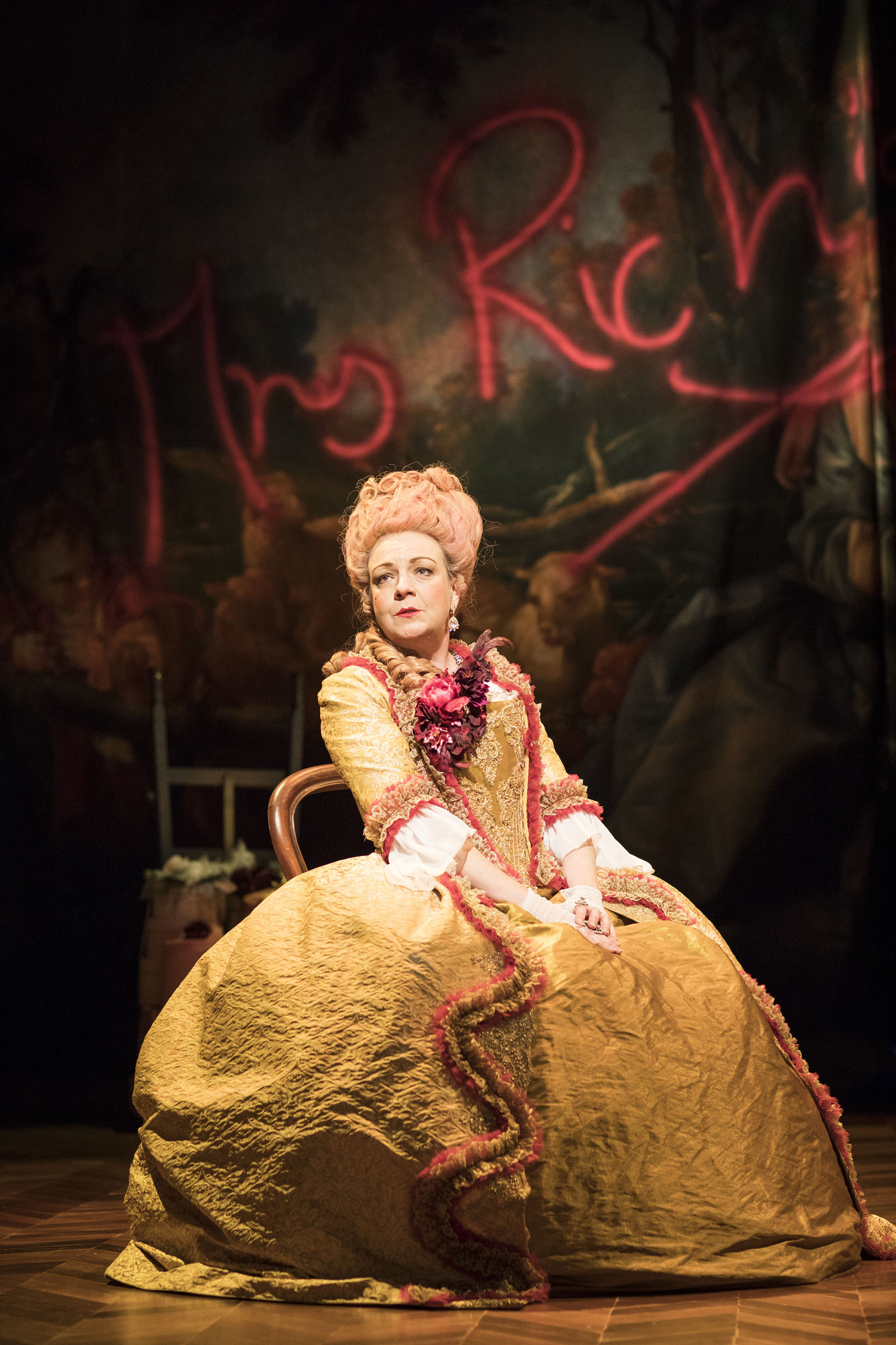 Sophie Stanton as Mrs Rich