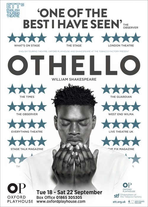 Othello Poster - English Touring Theatre