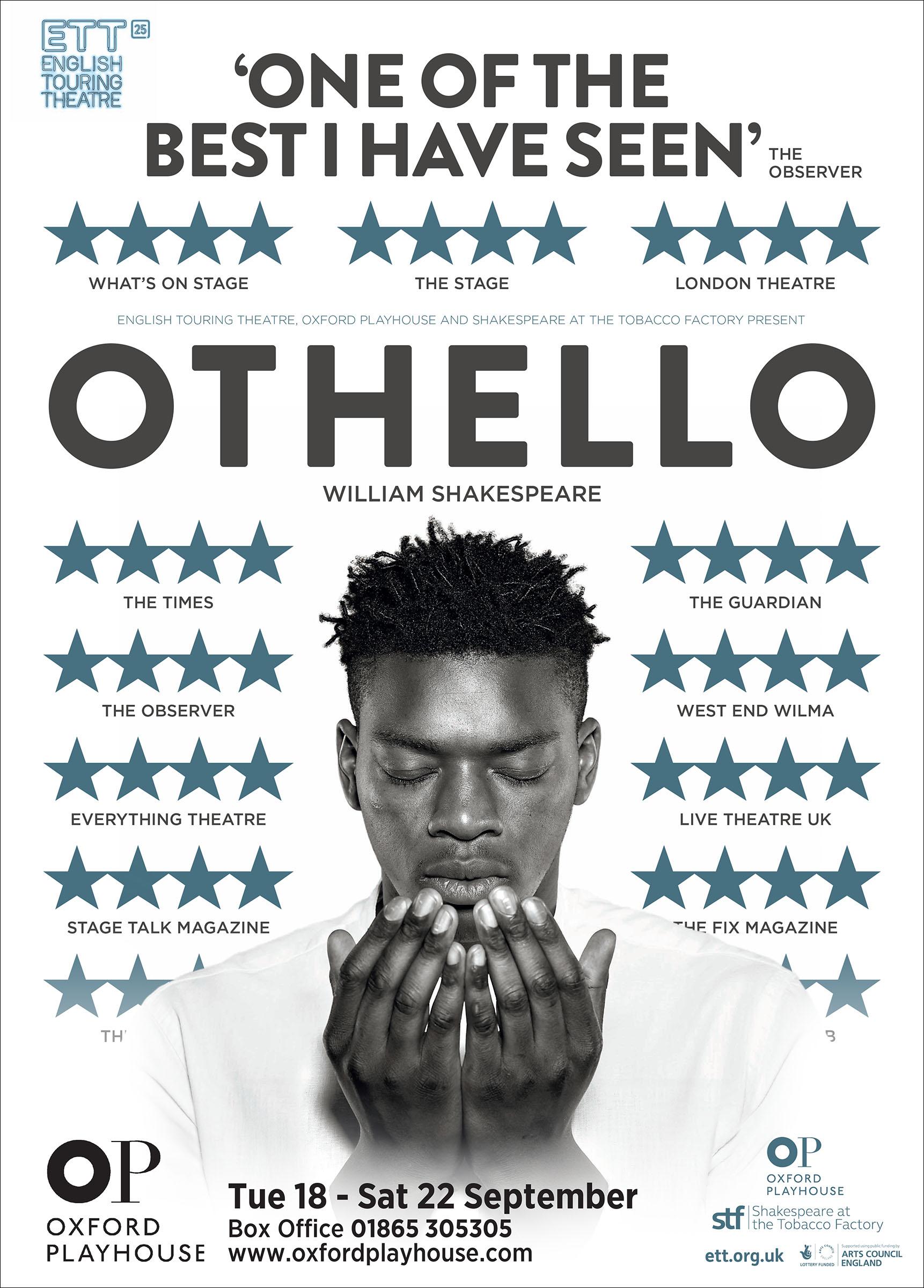Othello Poster - English Touring Theatre