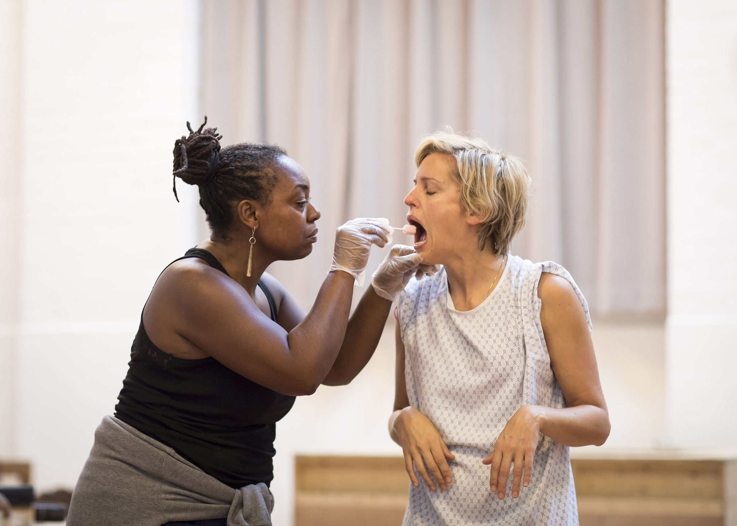 Jacqui Dubois and Denise Denise Gough