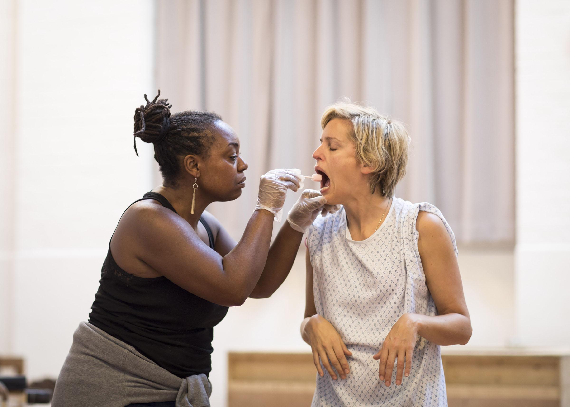 Jacqui Dubois and Denise Denise Gough