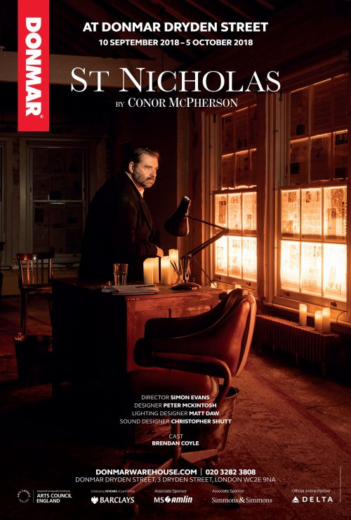 Poster for St Nicholas featuring Brendan Coyle