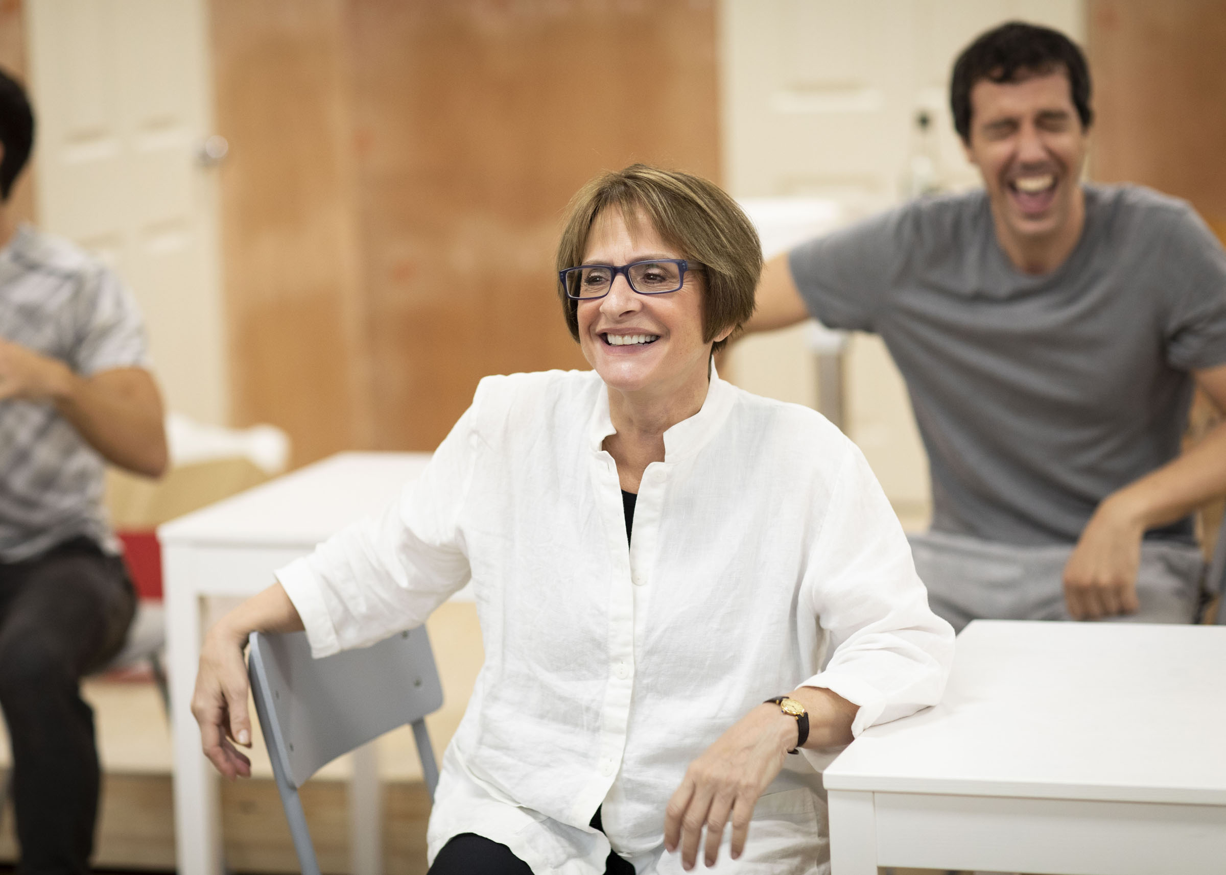 Patti LuPone in rehearsals for 'Company'