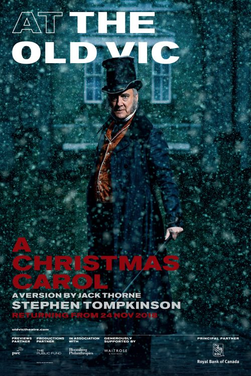 'A Christmas Carol' Poster featuring Stephen Tompkinson