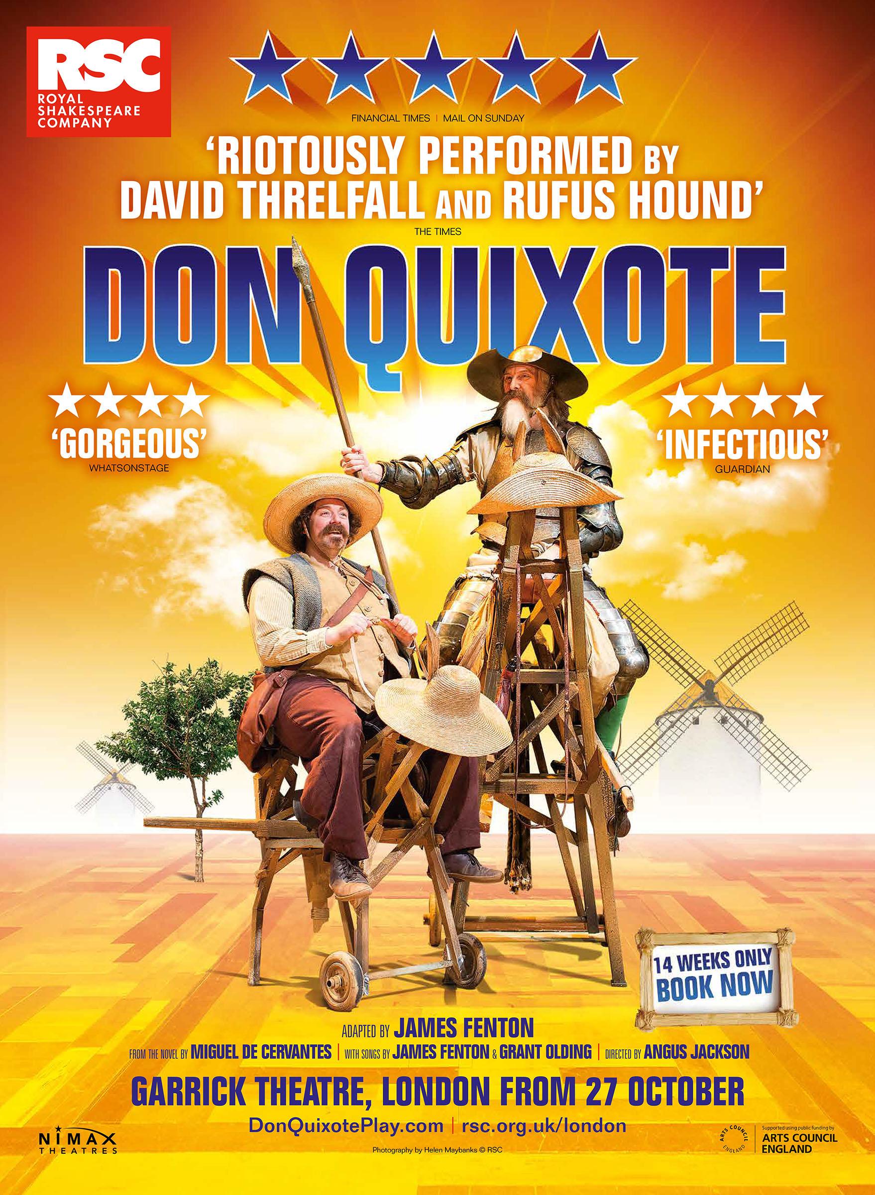 Don Quixote RSC Poster