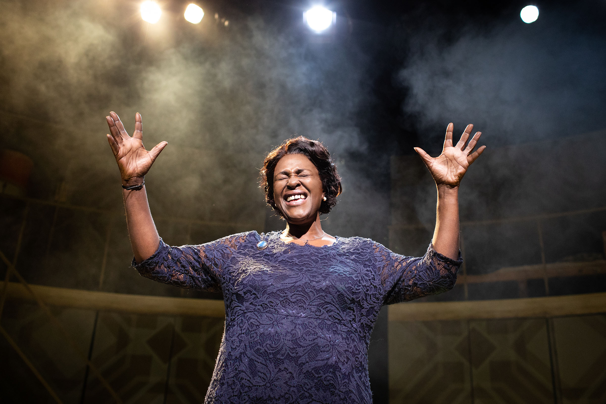 Sharon D Clarke as Caroline Thibodeaux in Caroline, or Change