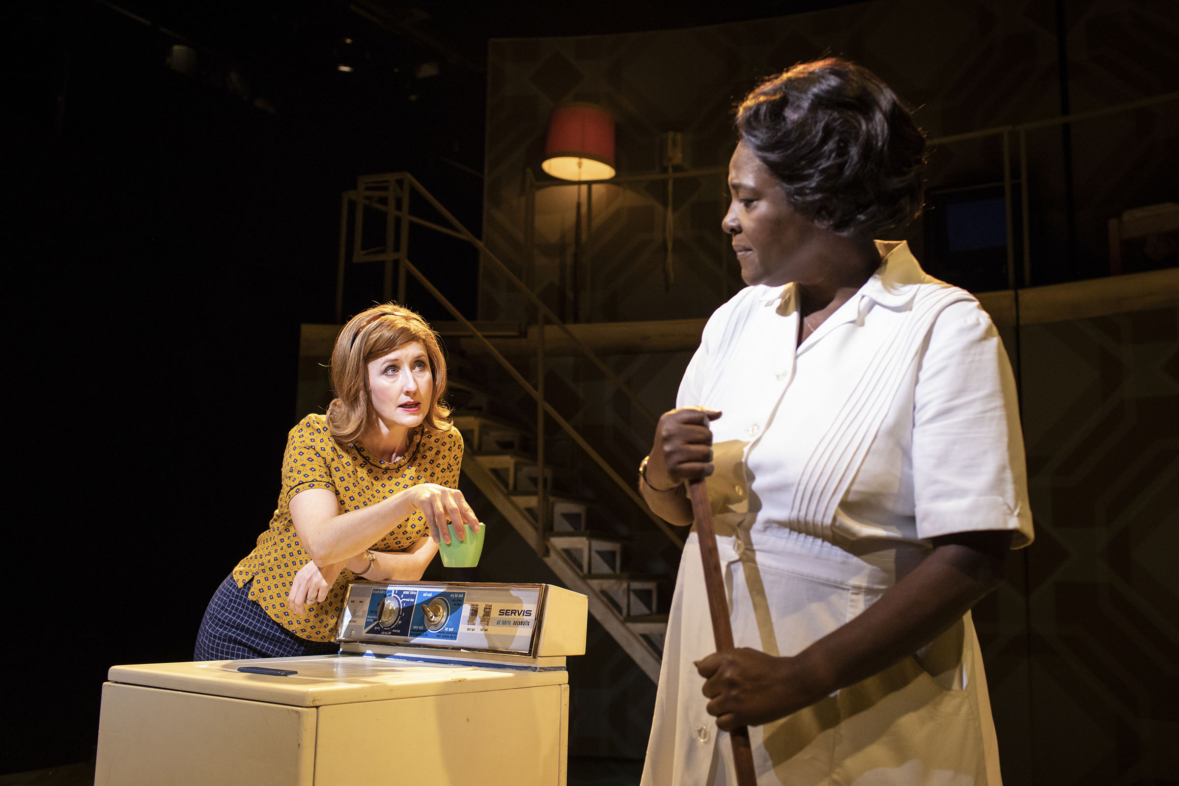 Lauren Ward (Rose Stopnick Gellman) and Sharon D Clarke (Caroline Thibodeaux)