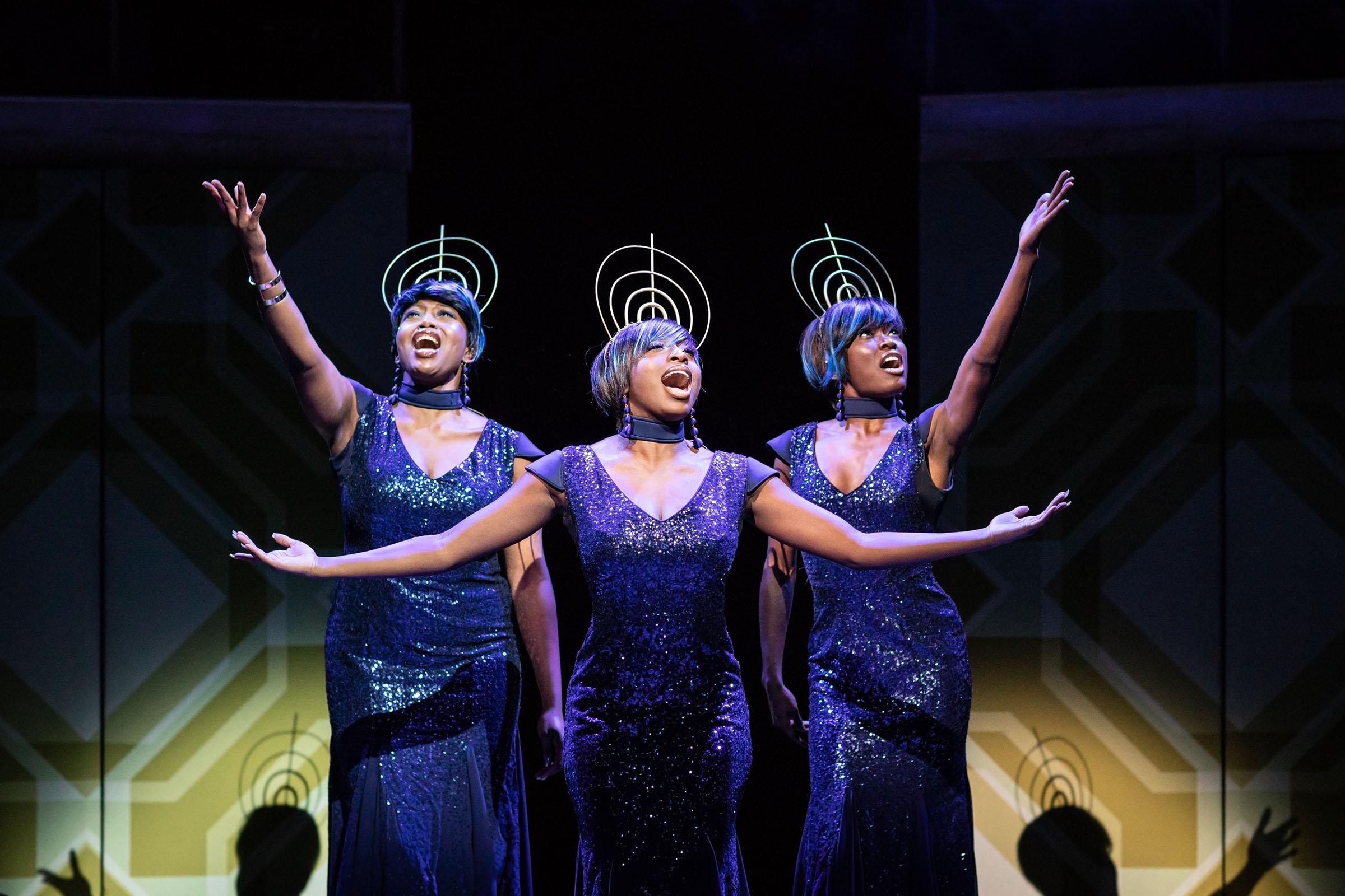 Keisha Amponsa Banson (Radio 3), Dujonna Gift-Simms (Radio 1) and Tanisha Spring (Radio 2)