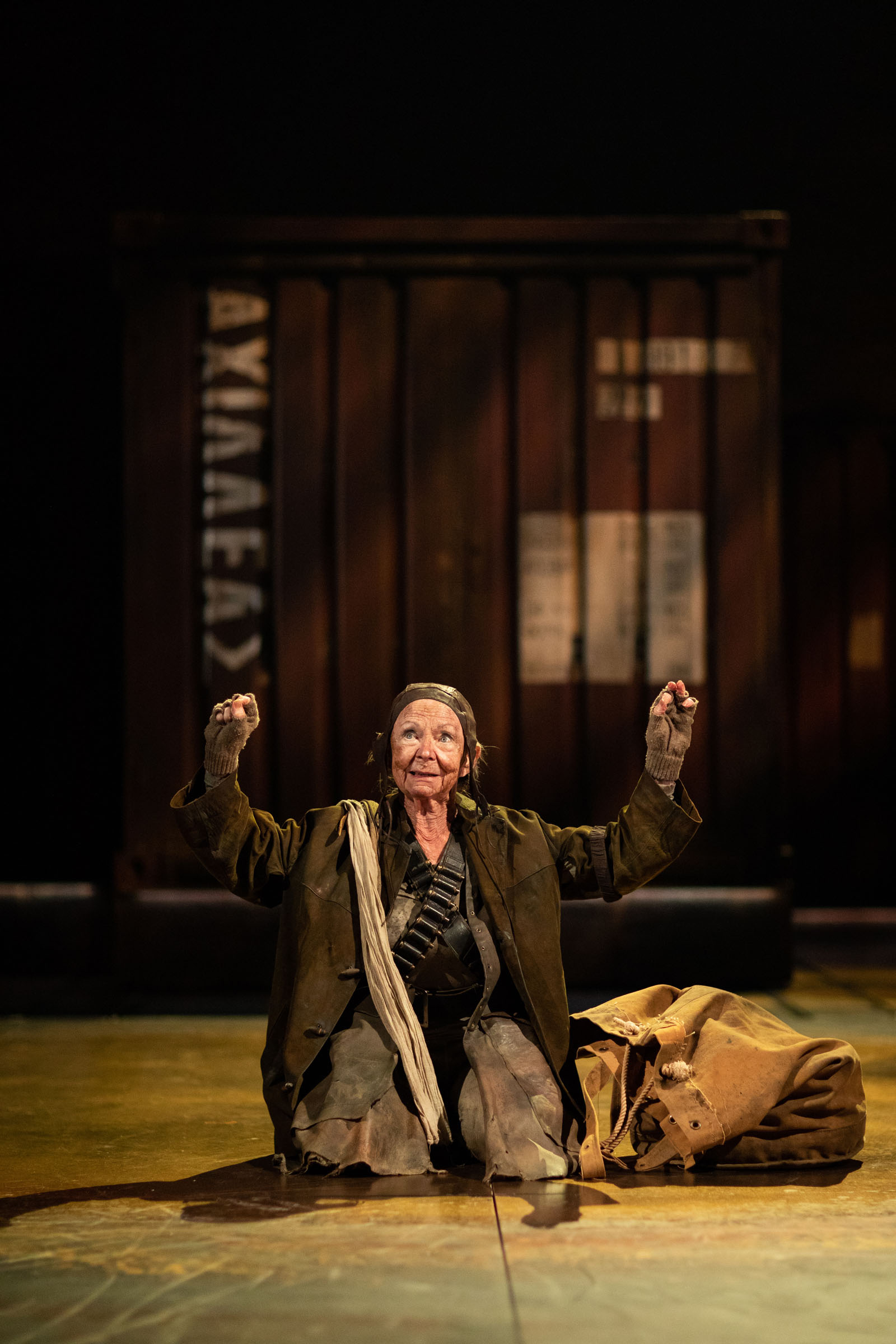 Sheila Reid as Thersites in Troilus and Cressida