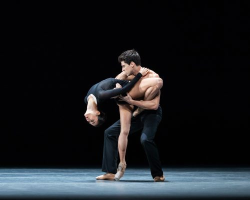 Fumi Kaneko and Nicol Edmonds in Infra