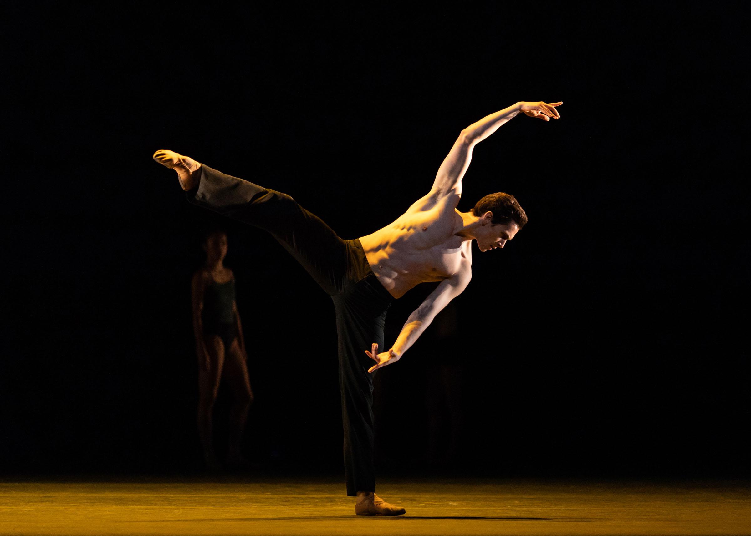 William Bracewell in Wayne McGregor's Infra, The Royal Ballet Season 2018/19