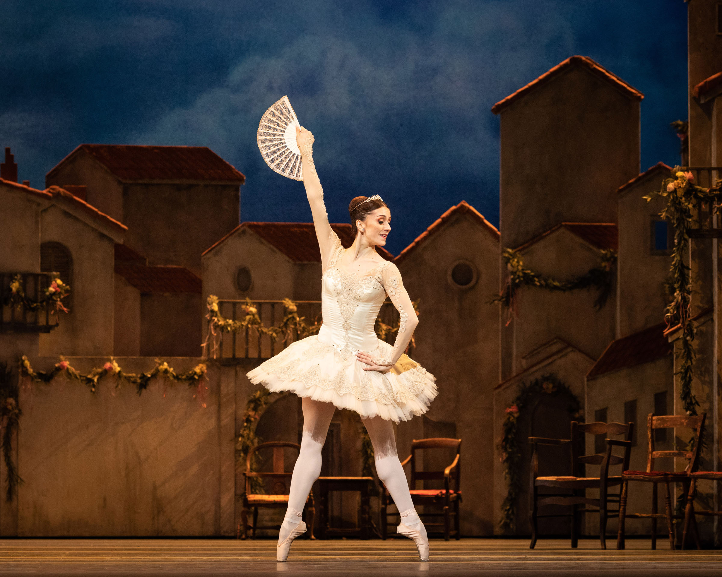 Marianela Nunez in Don Quixote at the Royal Opera House.