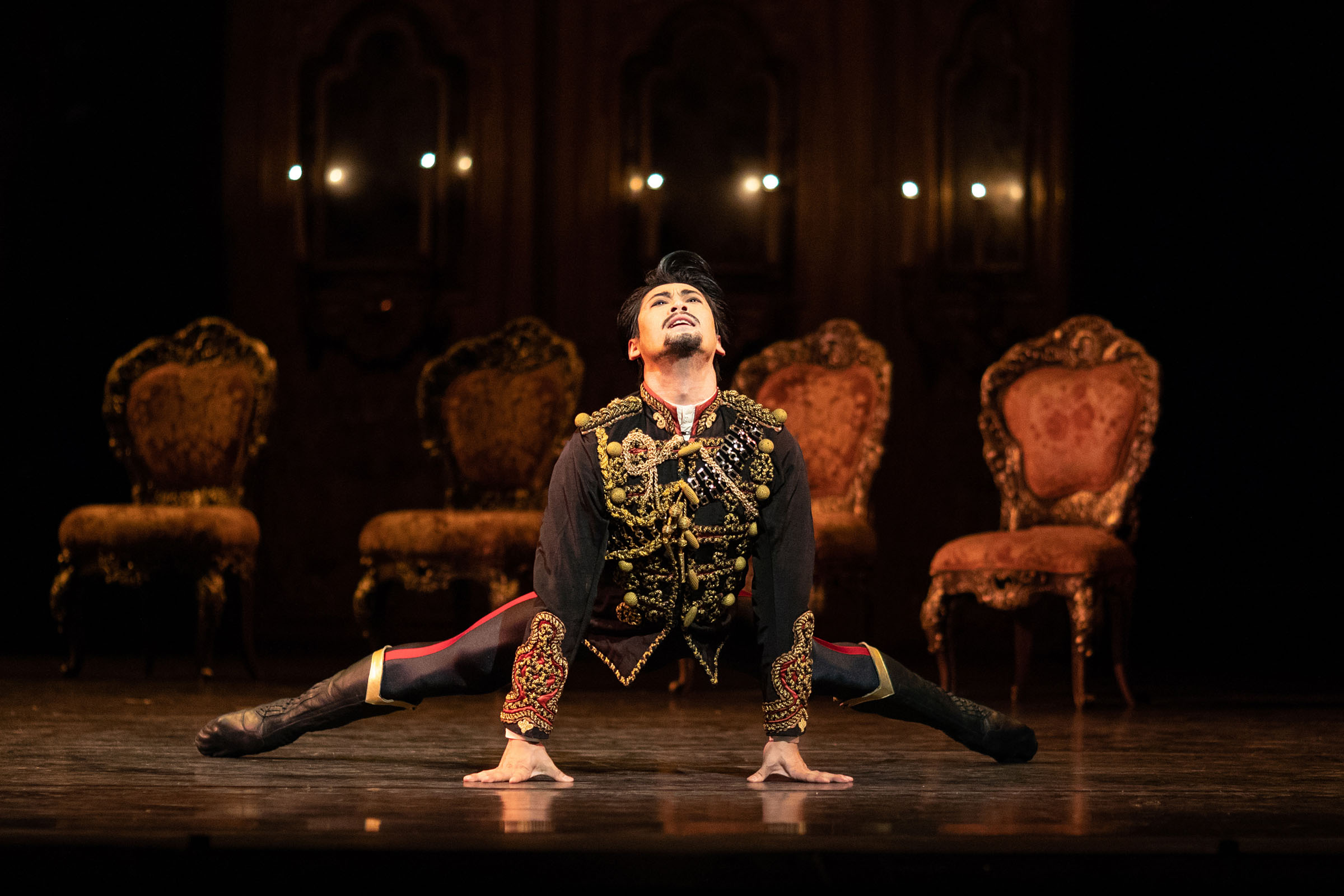 Ryoichi Hirano as Crown Prince Rudolf at the Royal Opera House