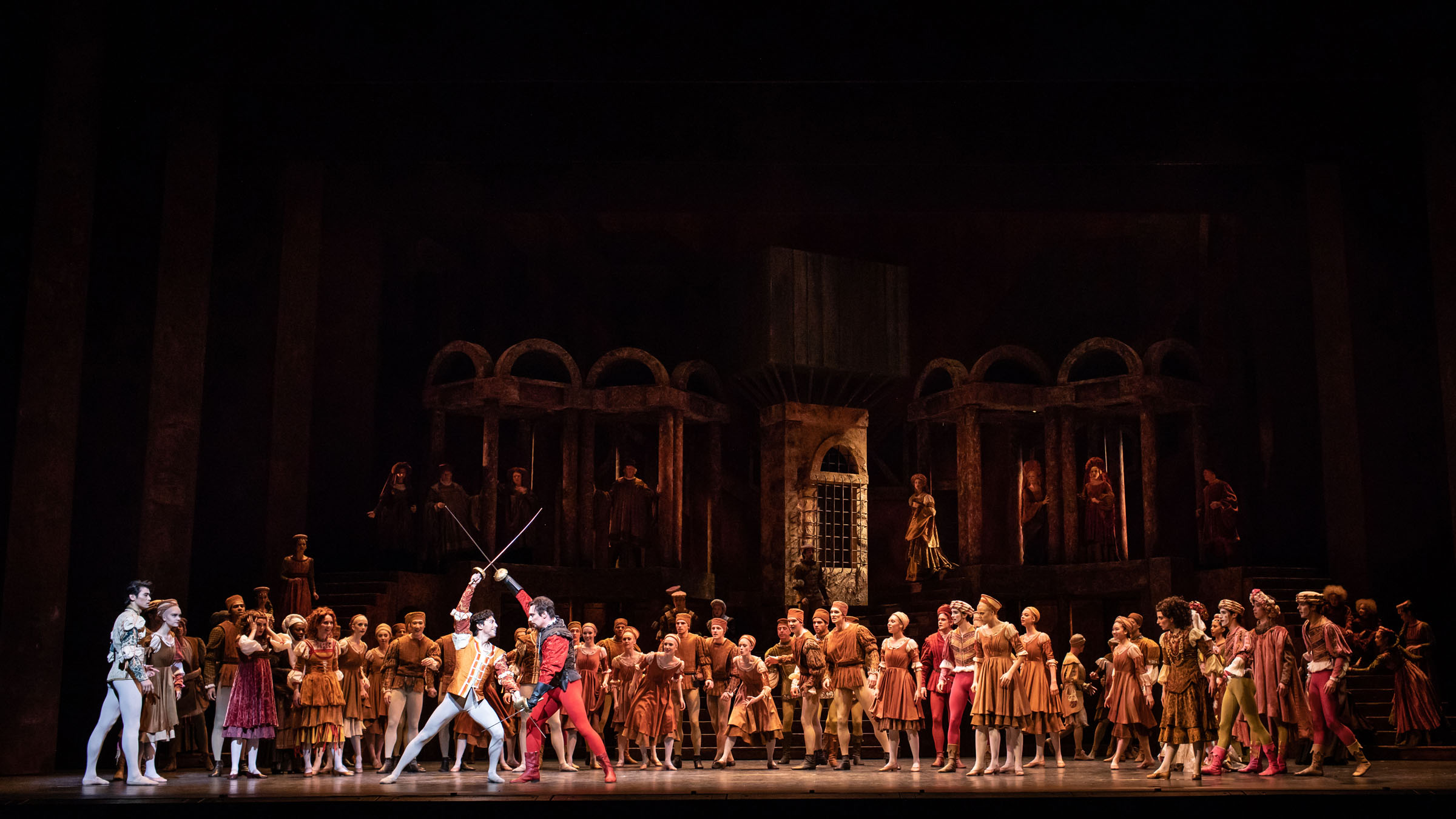 Romeo and Juliet at the Royal Opera House