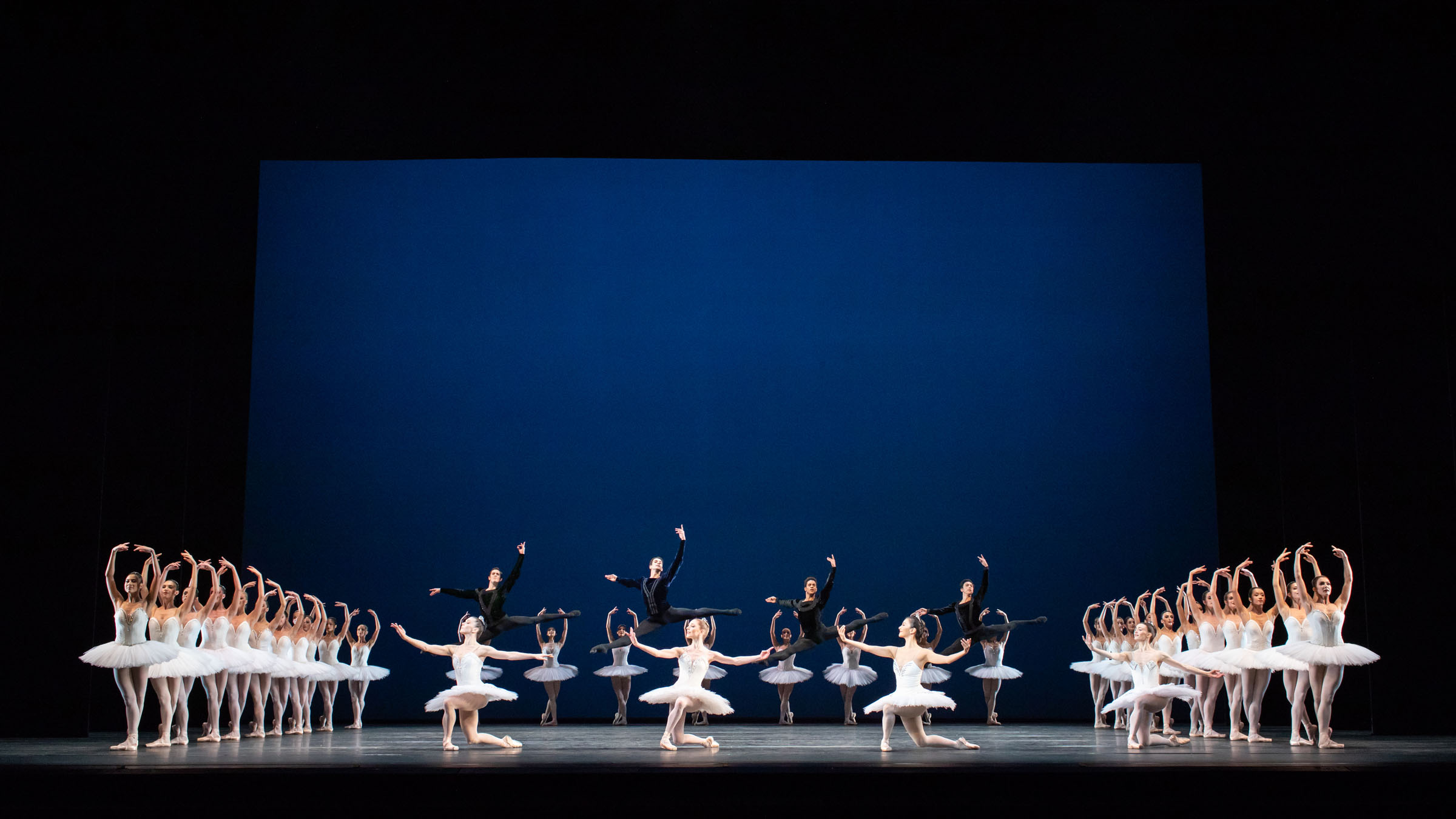 Artists of The Royal Ballet in George Balanchine's Symphony in C, The Royal Ballet Season 2018/19