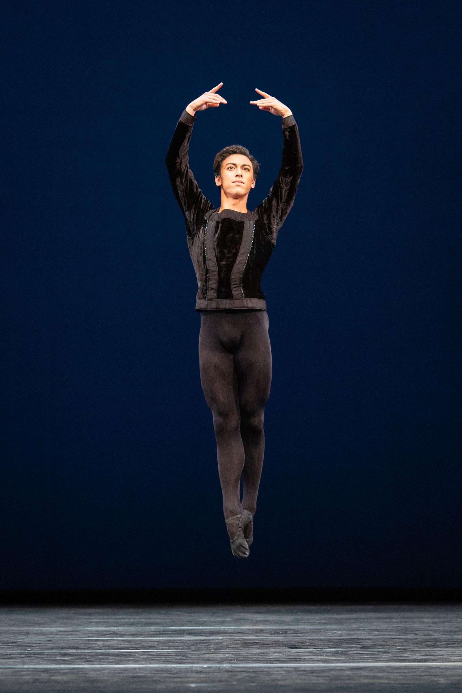 Luca Acri in George Balanchine's Symphony in C, The Royal Ballet Season 2018/19