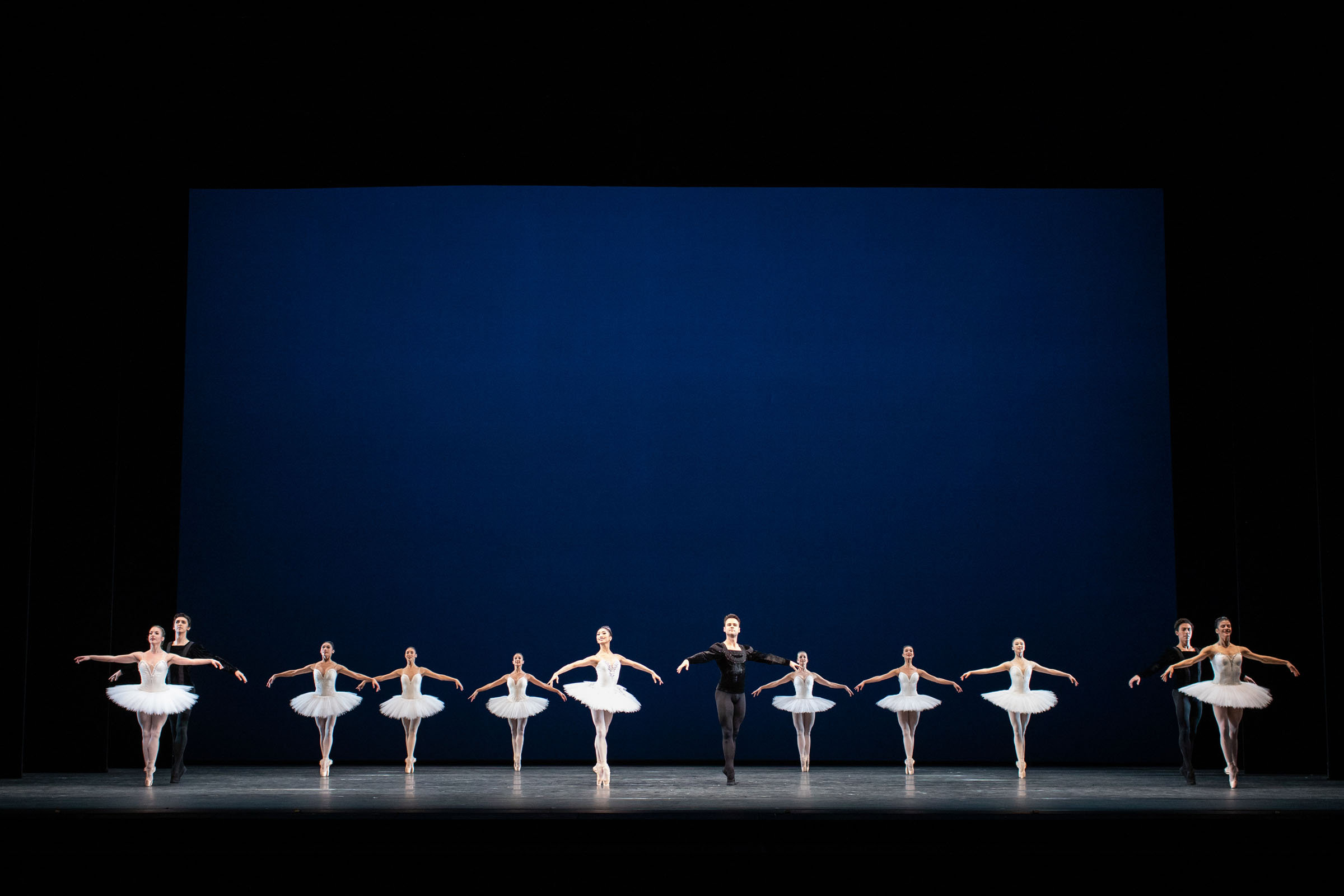 Artists of The Royal Ballet in Symphony in C, at the Royal Opera House