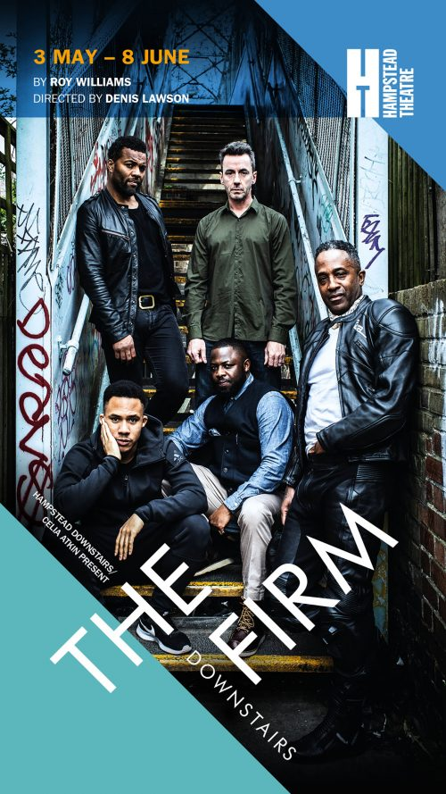 A leaflet from Hampstead Theatre for the play, 'The Firm'
