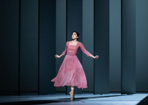 Yasmine Naghdi as Florence Billington in Alastair Marriott's The Unknown Soldier, The Royal Ballet