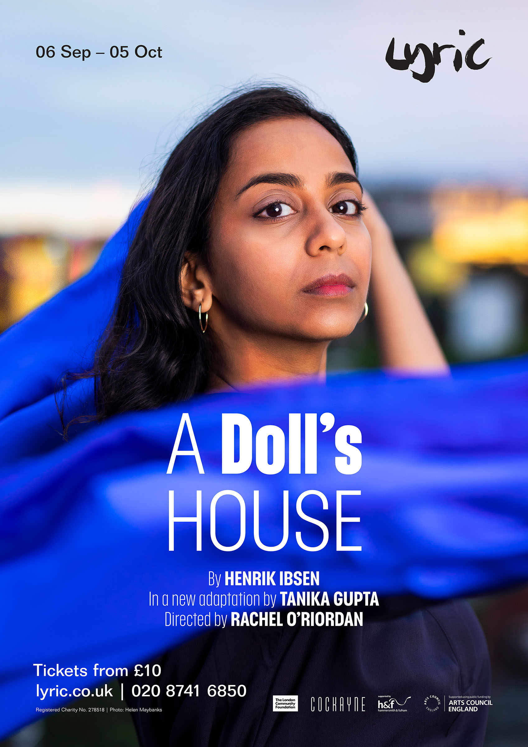 A poster of 'A Doll's House' at the Lyric Hammersmith
