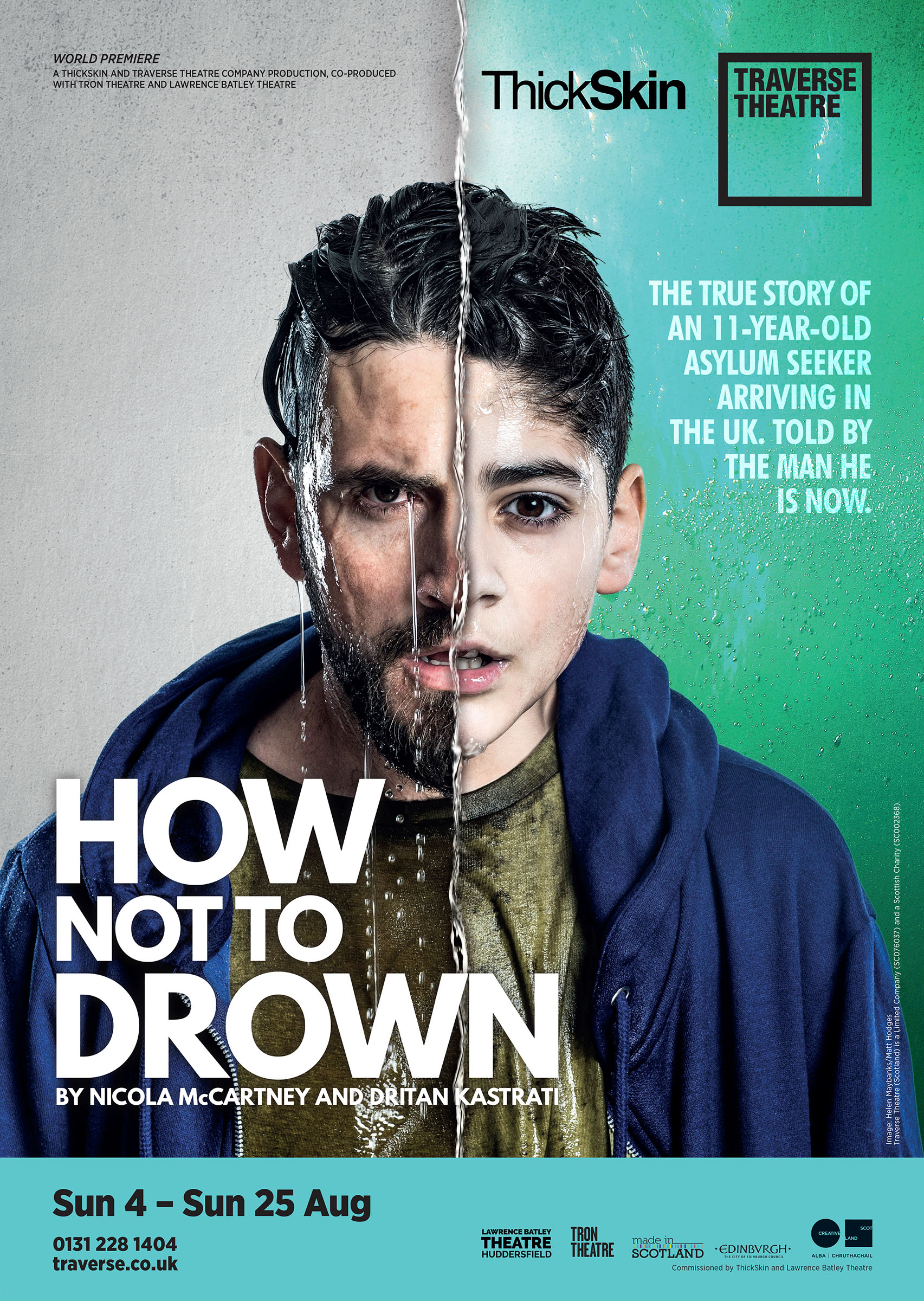 Poster for 'How Not to Drown'