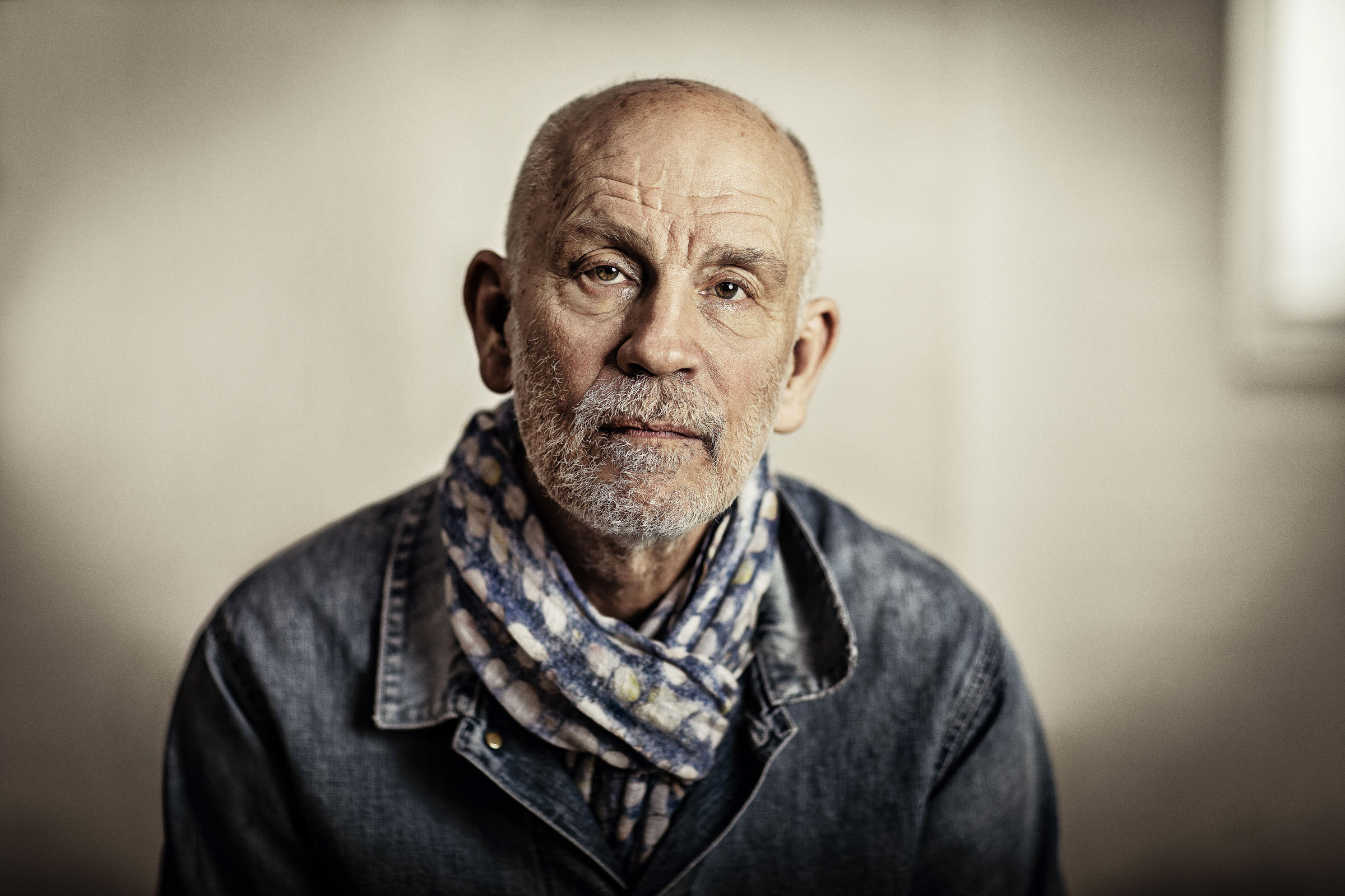 The actor John Malkovich