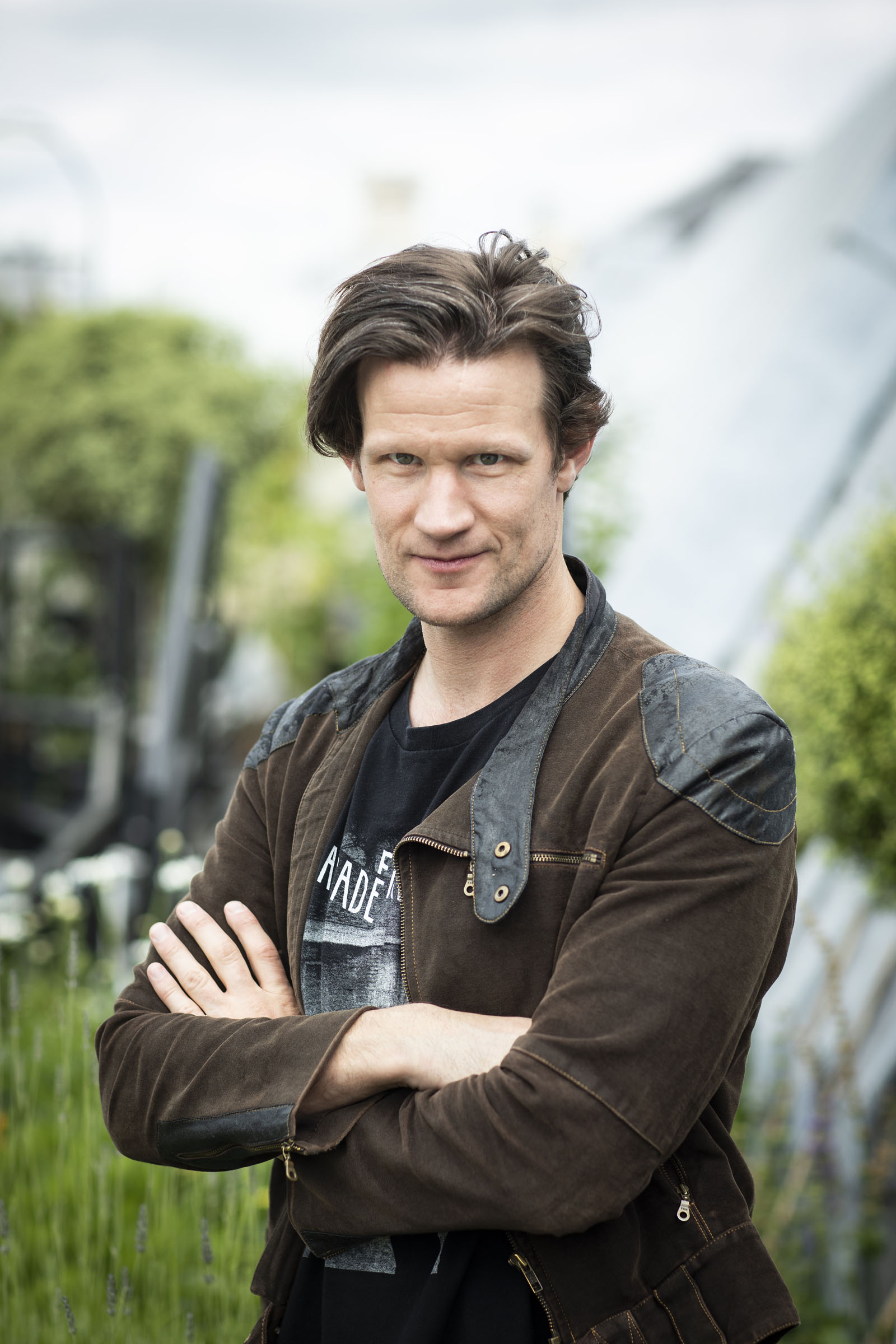 Matt Smith at an event for the National Youth Theatre