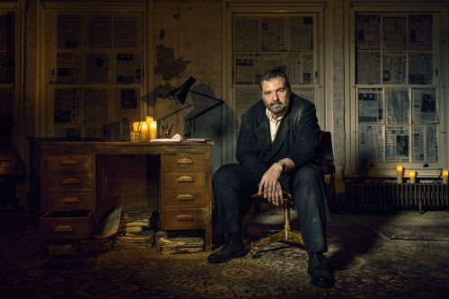 A portrait of Brendan Cole by Helen Maybanks