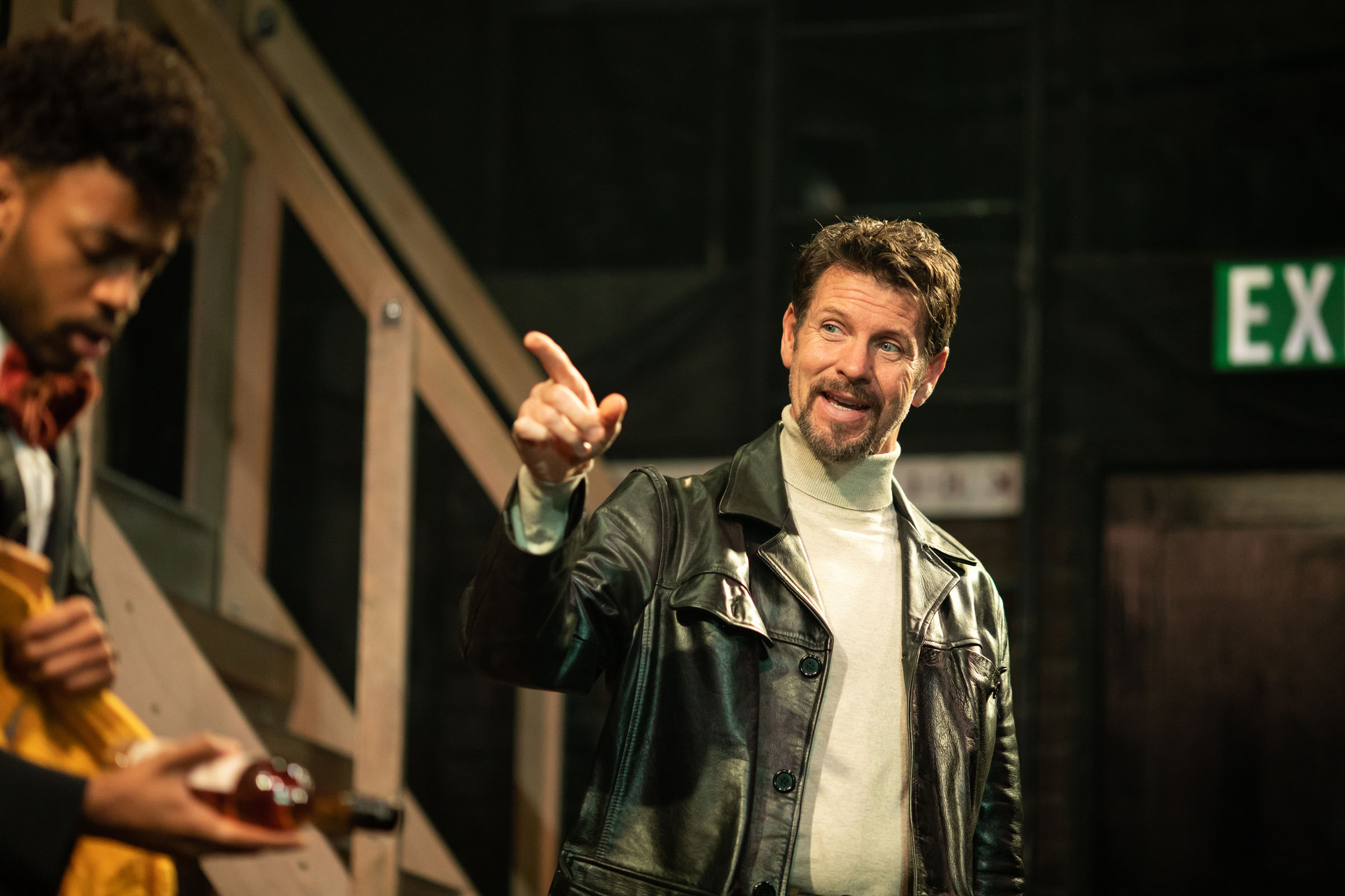 Lloyd Owen (Lloyd Dallas) in Noises Off