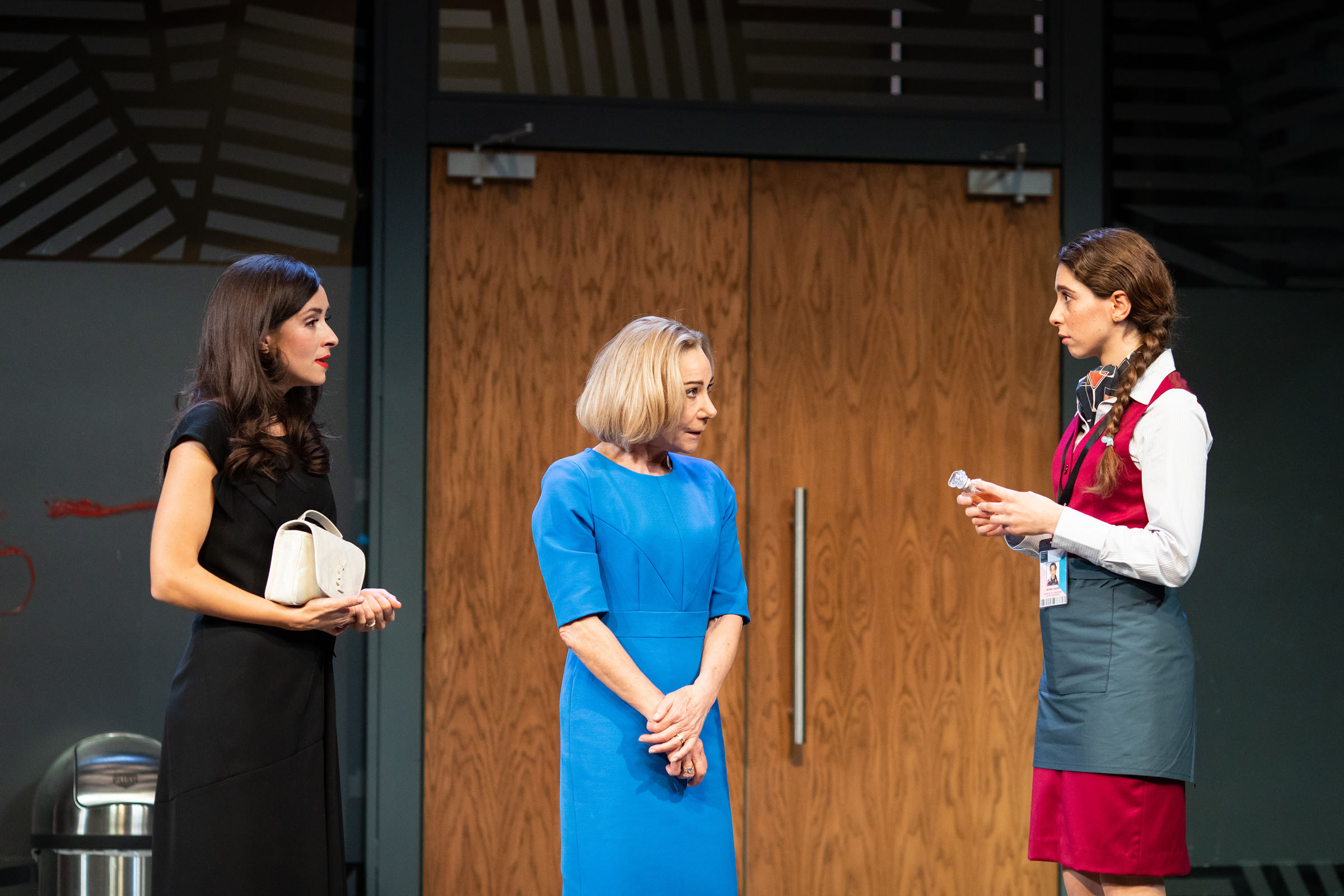 Zrinka Cvitešić as Sophia; Zoë Wanamaker as Helen; Raghad Chaar as Fatima.