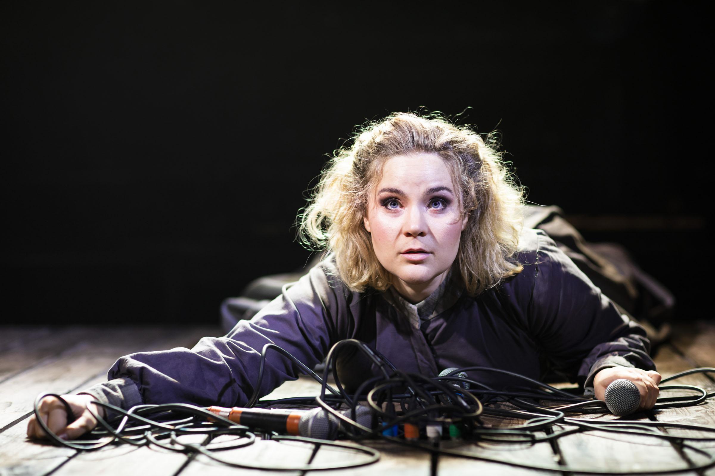 Natasha J. Barnes as Charlotte Brontë