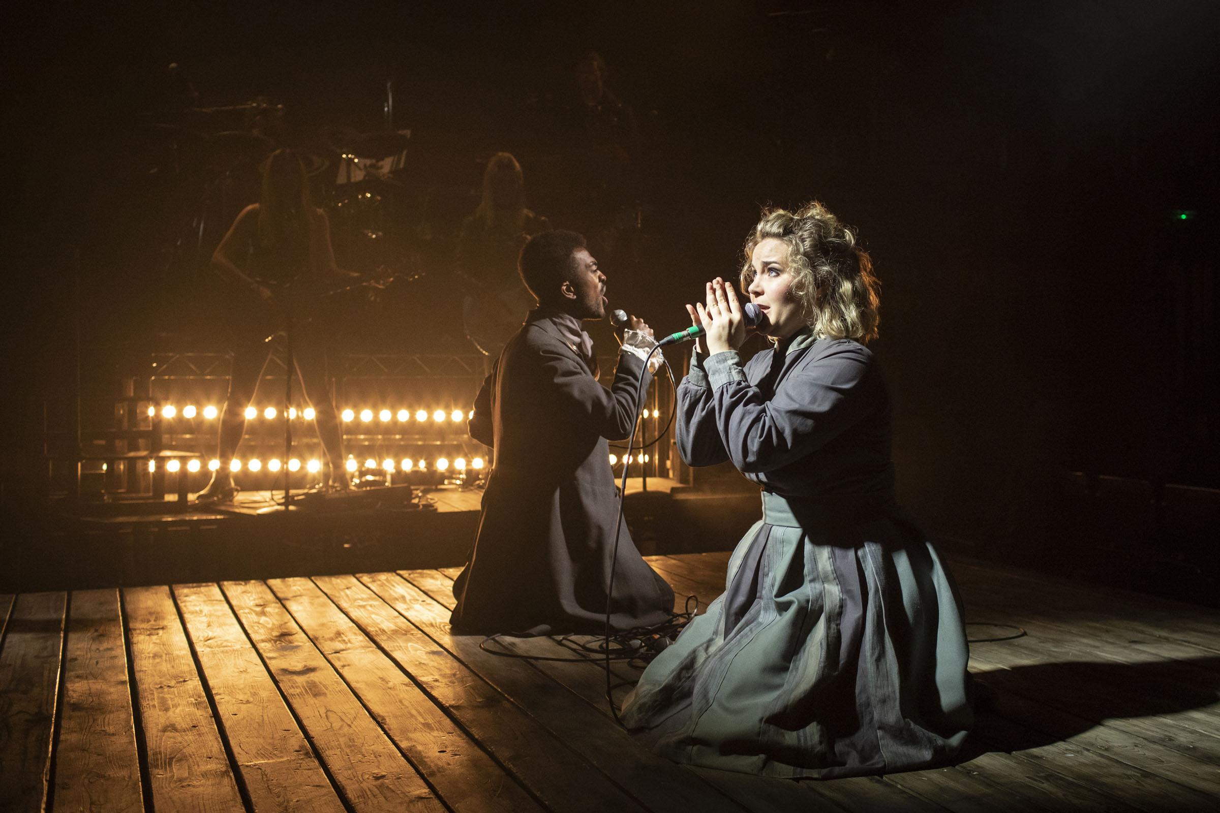 Matthew Jacobs Morgan (Branwell Brontë) and Natasha J. Barnes (Charlotte Brontë)