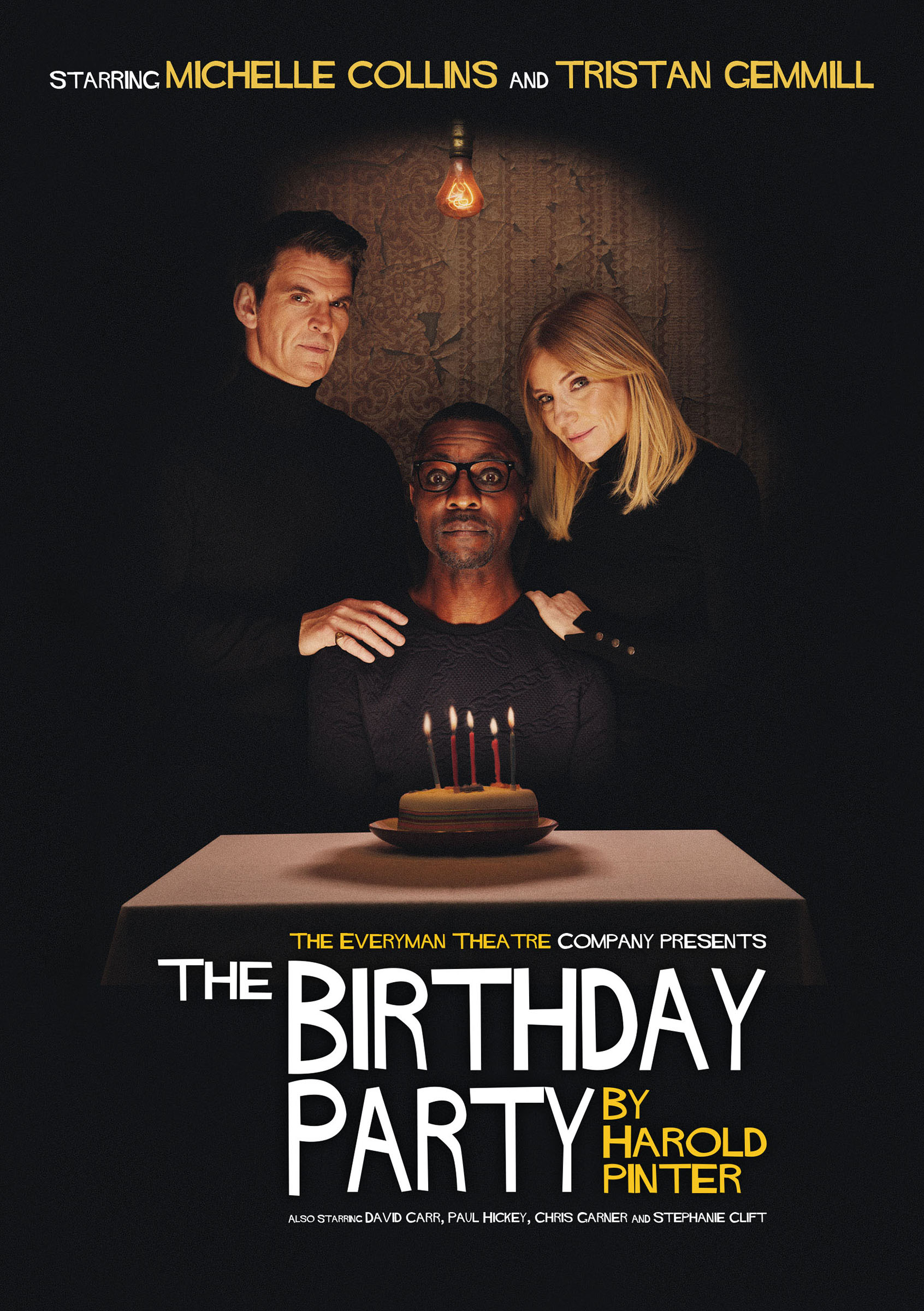 Promotional image for 'The Birthday Party'