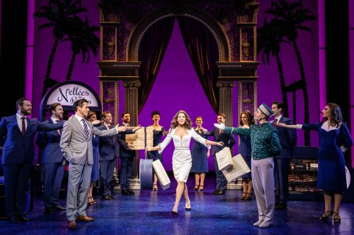 The cast of Pretty Woman at the Piccadilly Theatre, London