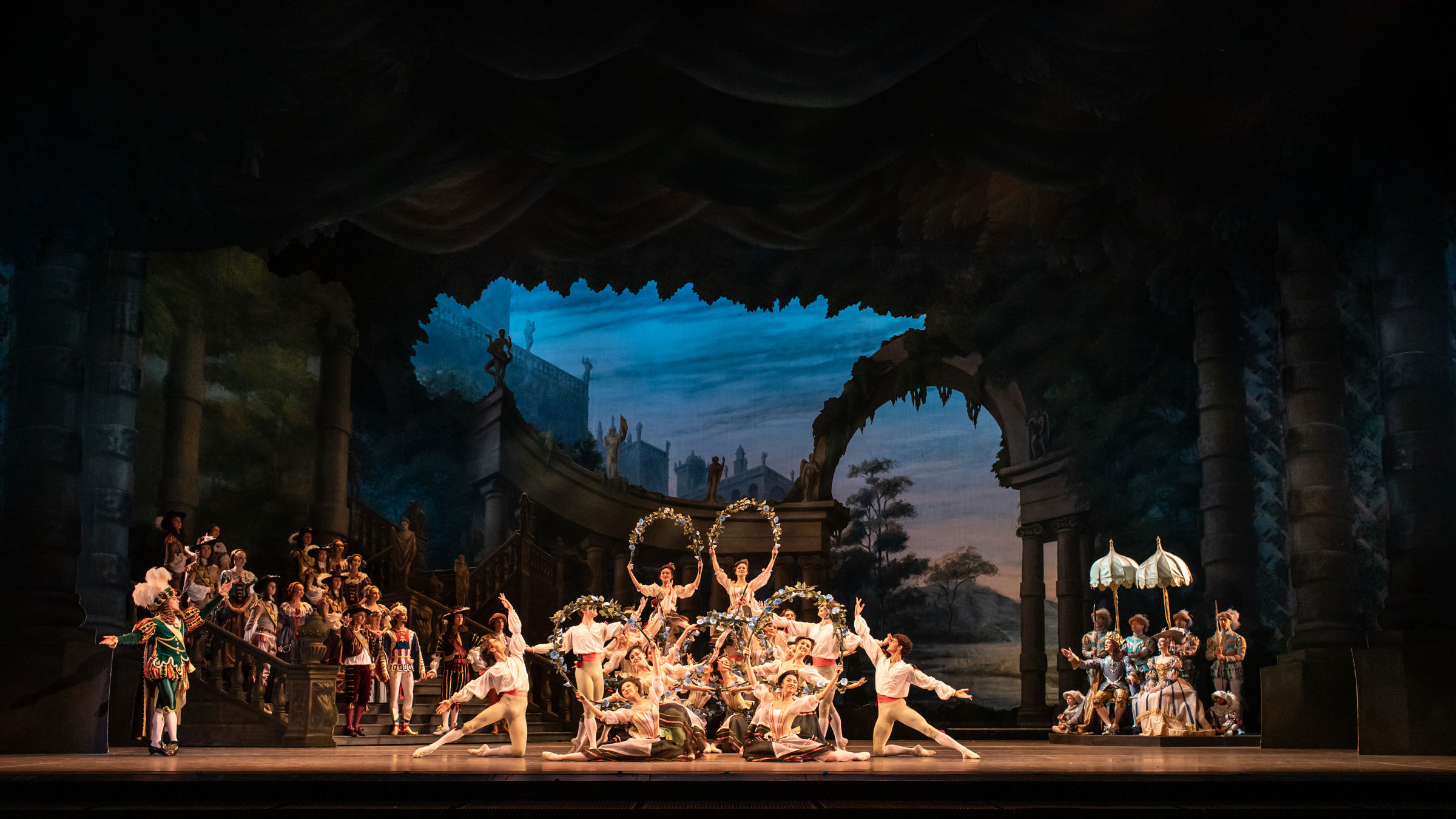Production photo of Marius Petipa's The Sleeping Beauty