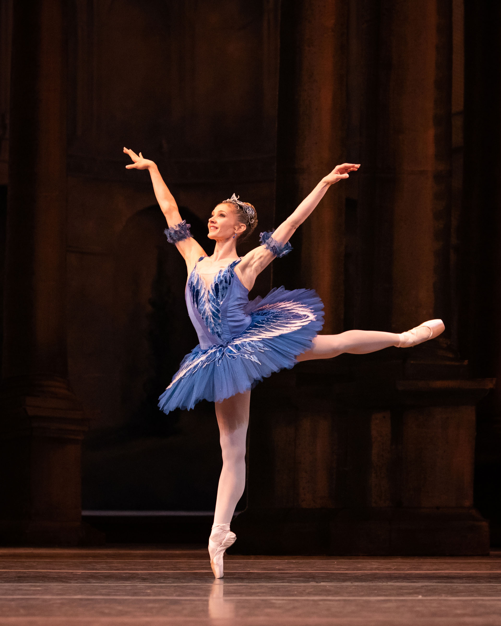 Melissa Hamilton as Princess Florine in The Sleeping Beauty, The Royal Ballet