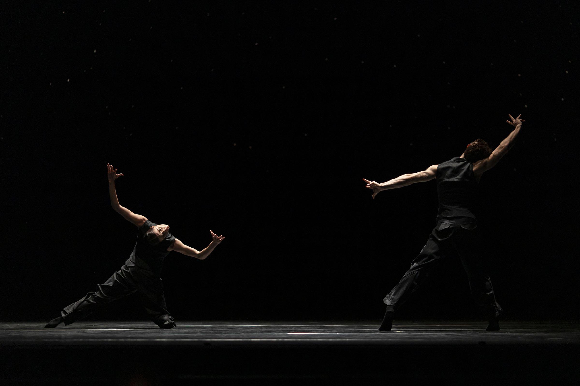 'Solo Echo', part of '21st Century Choreographers' at The Royal Opera House.