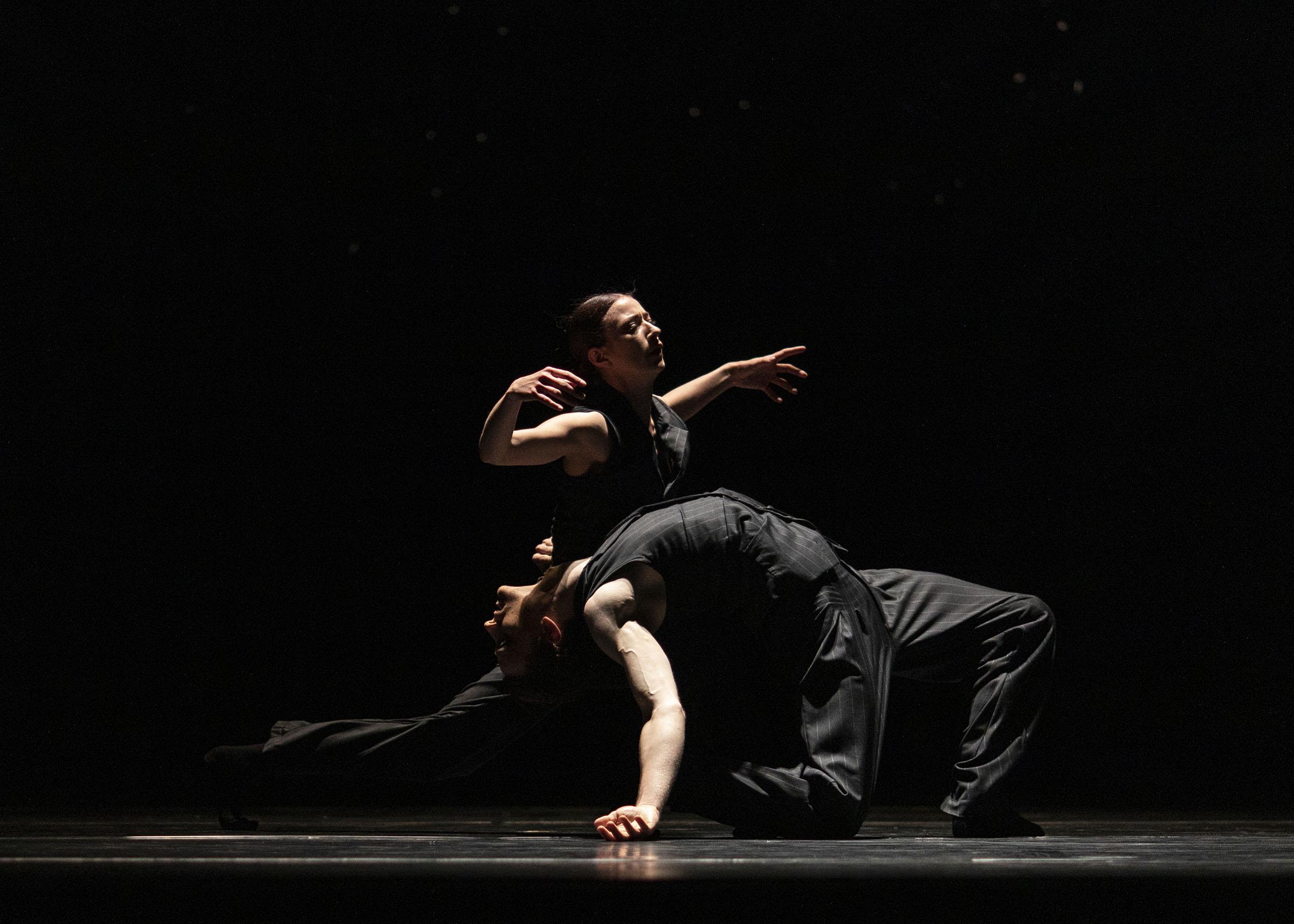 Isabella Gasparini in 'Solo Echo', part of '21st Century Choreographers'